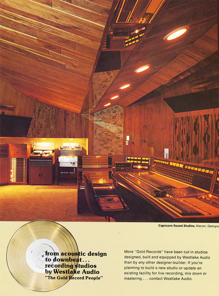 1974 ad for Wetlake Audio in the Reel2ReelTexas.com vintage recording collection
