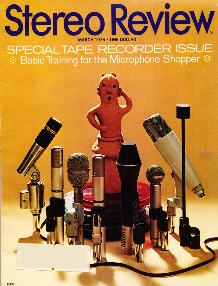 march 1975 cover of the Stereo Review Special Tape Recorder Issue in the Reel2ReelTexas.com vintage recording collection