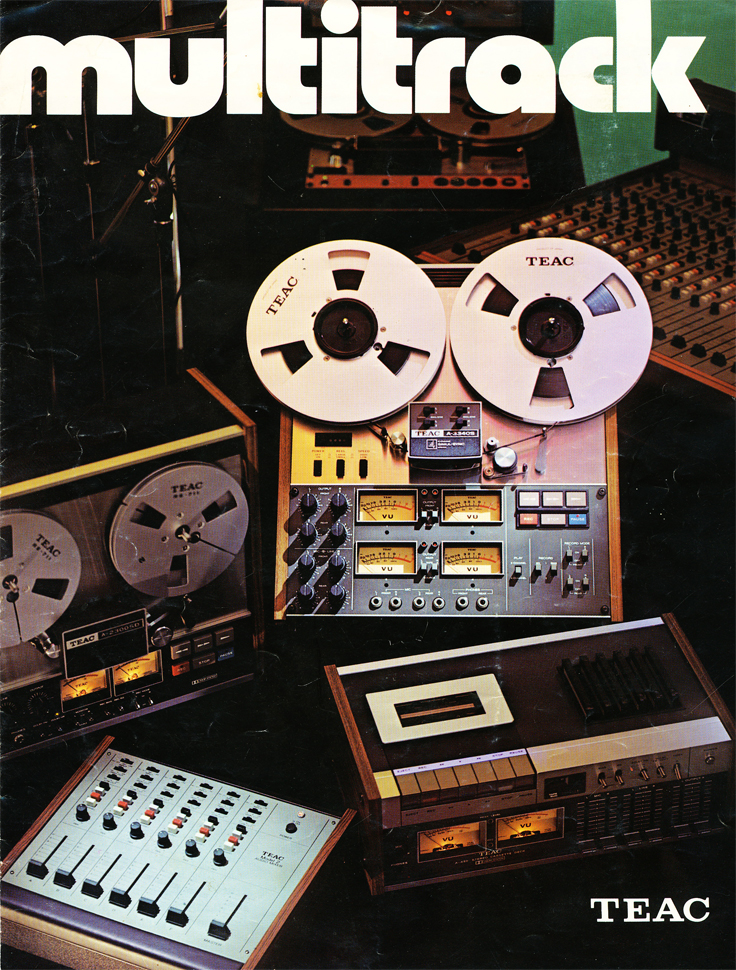 1975 ad for Teac reel tape recording multi-tracking  in the Reel2ReelTexas.com vintage recording collection