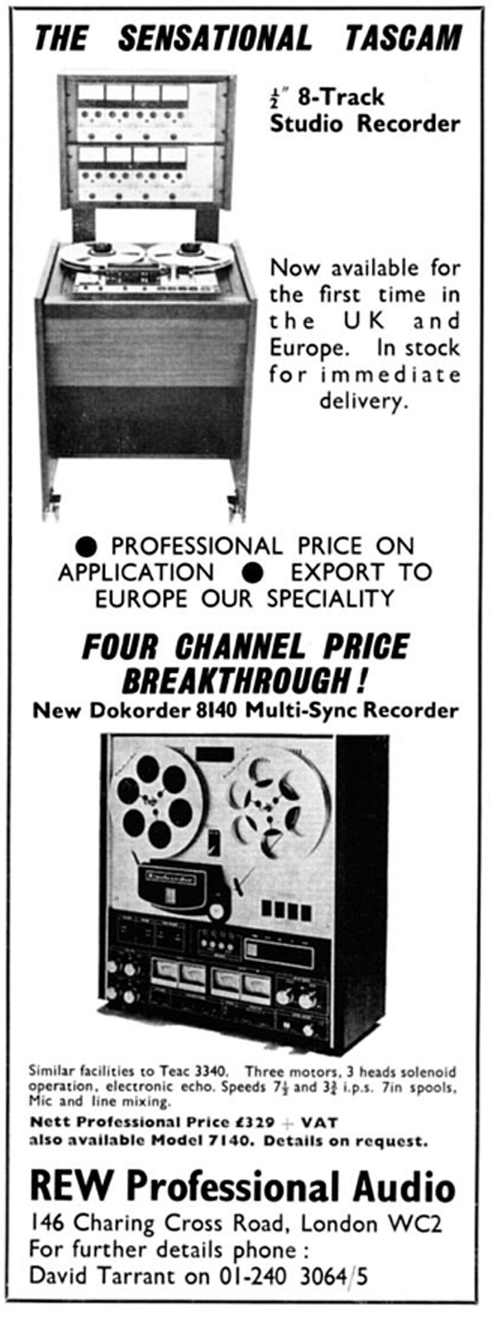 1976 ad for the Dokorder 9020 reel to reel tape recorder in the Reel2ReelTexas.com vintage reel tape recorder recording collection