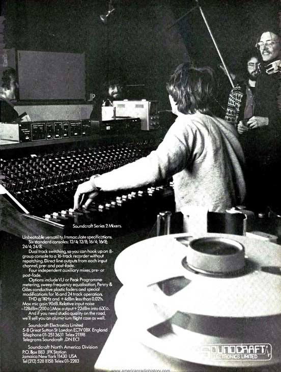 1977Soundcraft ad  in the Reel2ReelTexas.com vintage reel tape recorder recording collection