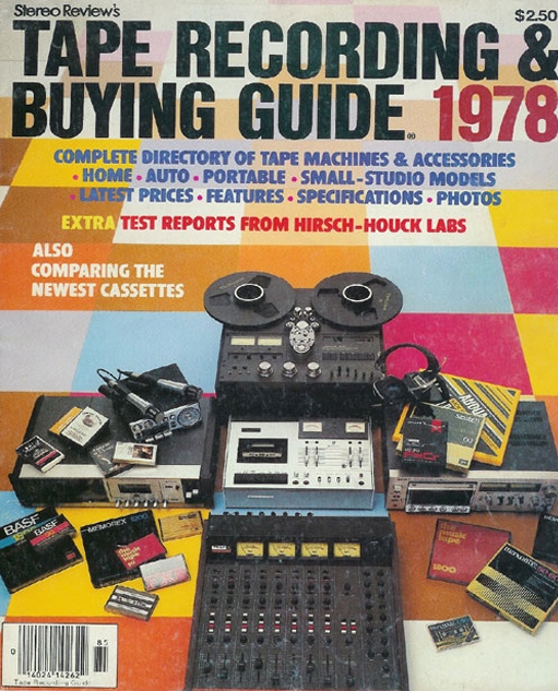 1978 Tape Recording Buying Guide in the Reel2ReelTexas.com vintage recording collection