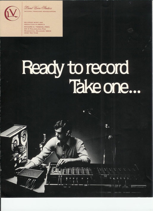 1979 Land Voice promotional materials in the Reel2ReelTexas.com vintage recording collection