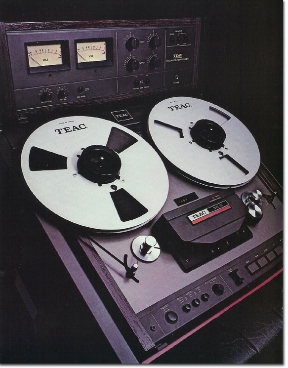 pictures of the 35-2 from the 1979 Teac Tascam brochure in the Reel2ReelTexas.com vintage recording collection
