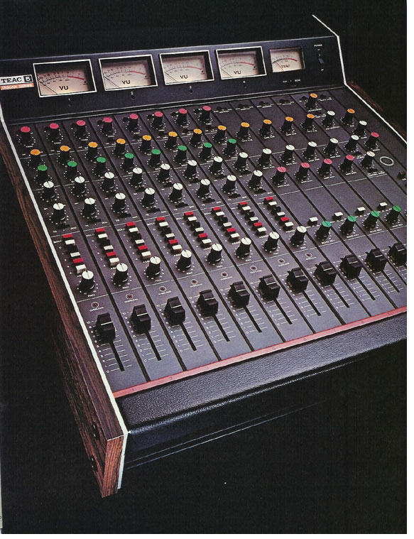 pictures of the Teac Model 5 from the 1979 Teac Tascam brochure in the Reel2ReelTexas.com vintage recording collection