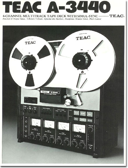 10961 manual for the Teac 505-R reel to reel tape recorder  in the Reel2ReelTexas.com vintage recording collection