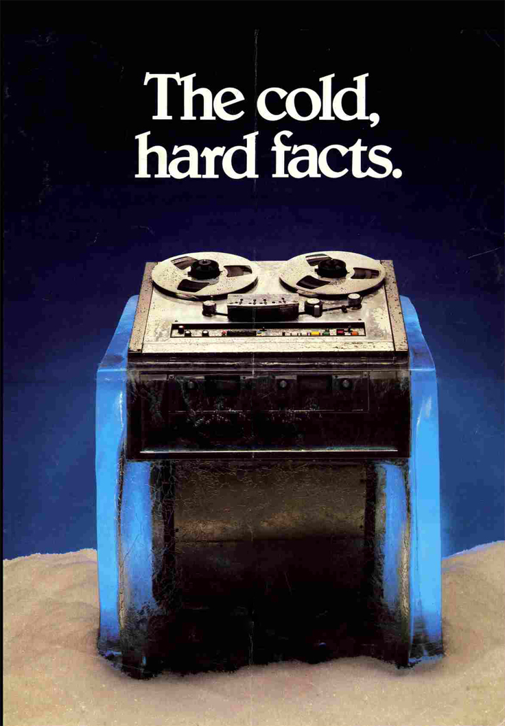 1981 ad for the MCI professional reel to reel tape recorders in the Reel2ReelTexas.com vintage recording collection