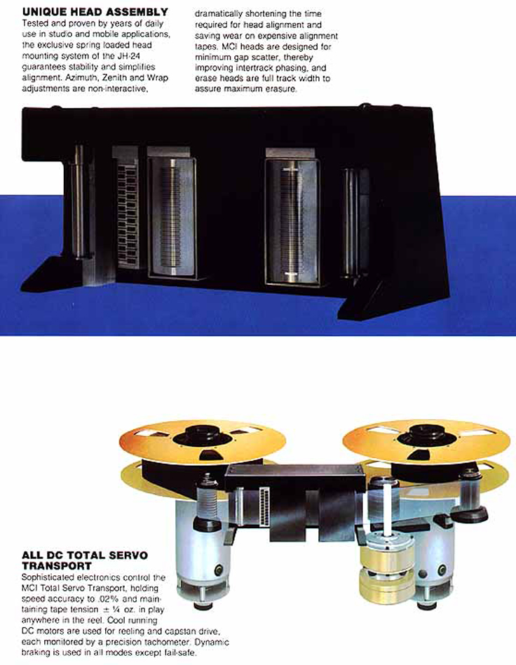 1978 ad for the MCI professional reel to reel tape recorders in the Reel2ReelTexas.com vintage recording collection