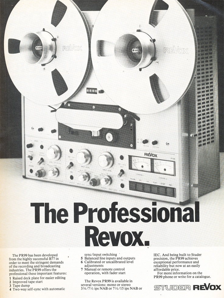 Leevers Rich reel tape recorders