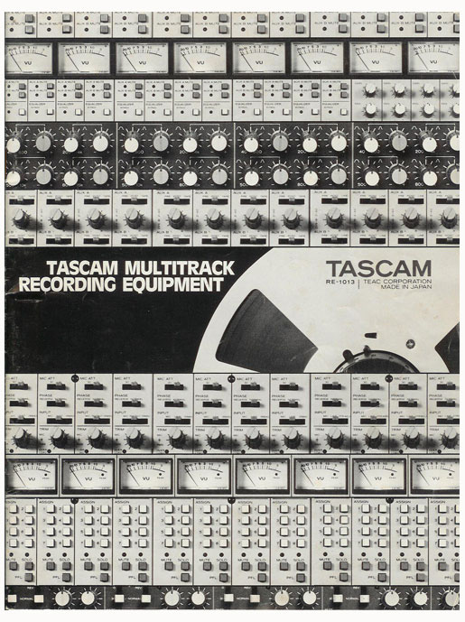 1983 Tascam brochure showing specifications in the Reel2ReelTexas.com vintage recording collection' vintage reel to reel tape recorder collection