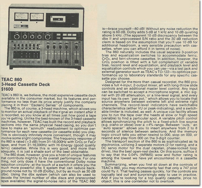 1978review of the Teac 860
