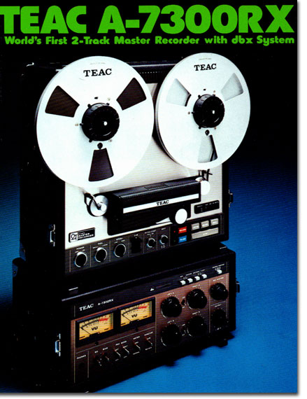 1976 Teac A-7300RX reel tape recorder in the Reel2ReelTexas.com vintage recording collection vintage reel tape recorder collection