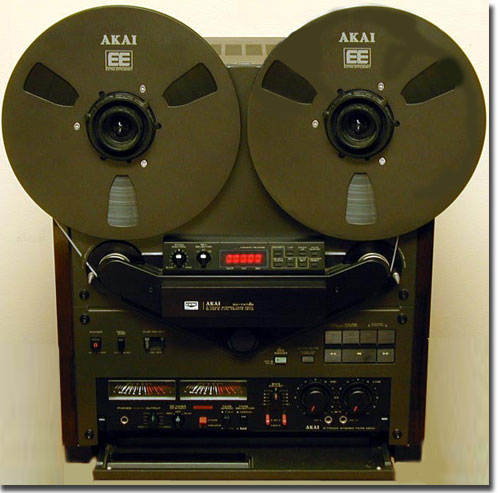 Akai GX-747 reel to reel tape recorder in the Reel2ReelTexas.com vintage recording collection