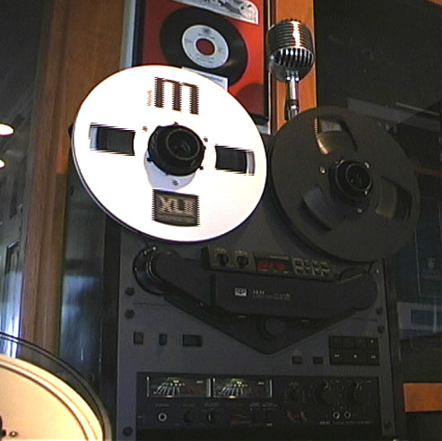 Akai GX-747 reel to reel tape recorder in the Reel2ReelTexas.com vintage reel tape recorder recording collection