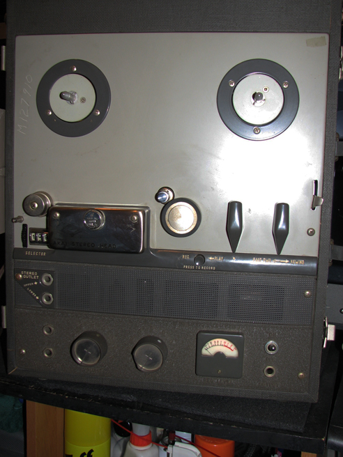 AkaiStereoTerecorder in Reel2ReelTexas.com vintage reel tape recorder collection
