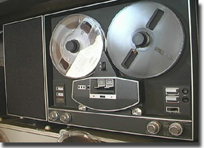 Ampex 761 reel to reel tape recorder in the Reel2ReelTexas.com vintage recording collection