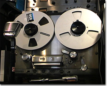 Ampex 350 solid state professional reel to reel tape recorder in the Reel2ReelTexas.com vintage reel tape recorder recording collection