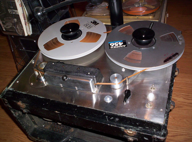 Ampex 400 reel tape recorder in the Reel2ReelTexas.com vintage recording collection