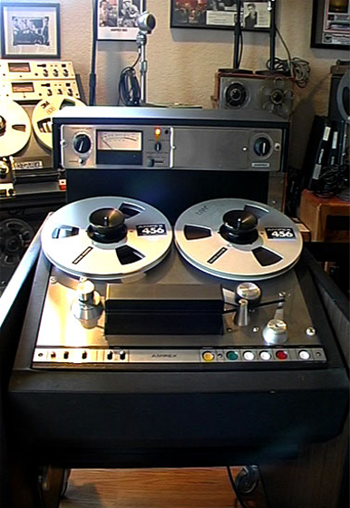 Ampex AG-440 professional reel to reel tape recorder in the Reel2ReelTexas.com vintage reel tape recorder recording collection