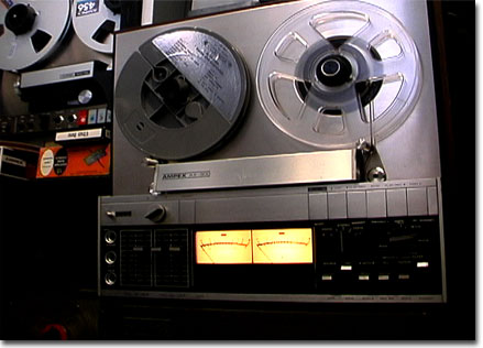 Ampex AX-300 reel to reel tape recorder in the Reel2ReelTexas.com vintage recording collection