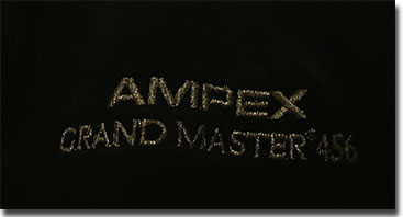 Ampex black satin jacket with Ampex Grand Master logos in the Reel2ReelTexas.com reel tape recorder collection