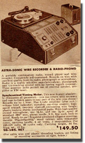 picture of catalog listing for Pentron Astro Sonic