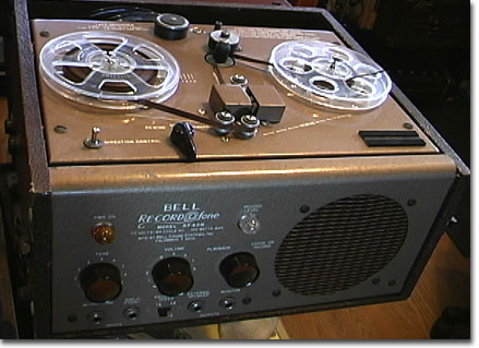 Bell Sound Systems RT-65 tape recorder Museum of Magnetic Sound Recording