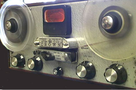 1954 Crown Prince professional reel to reel tape recorder in the Reel2ReelTexas.com vintage recording collection