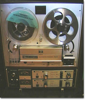 Dokorder 9020 reel to reel tape recorder in the Reel2ReelTexas.com vintage reel tape recorder recording collection