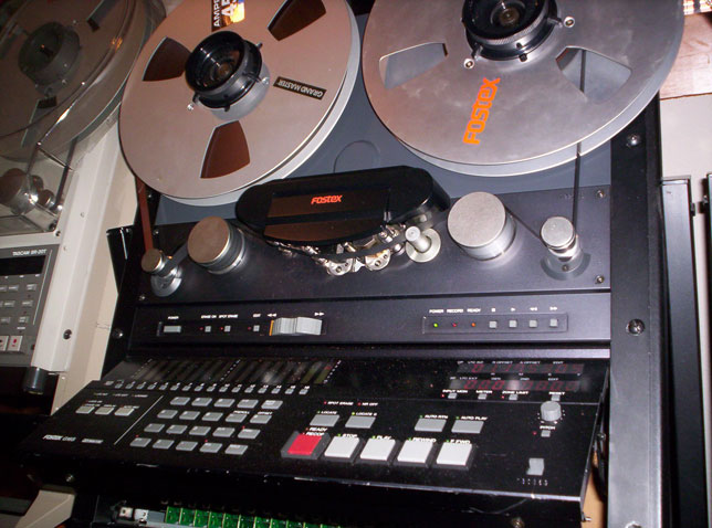 Fostex reel tape recorders bull the Museum of Magnetic Sound