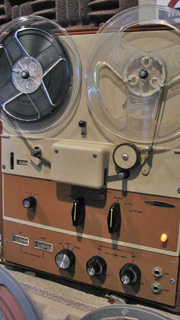 Rare Ampex clone sold by Heathkit in Reel2ReelTexas.com vintage tape recorder collection