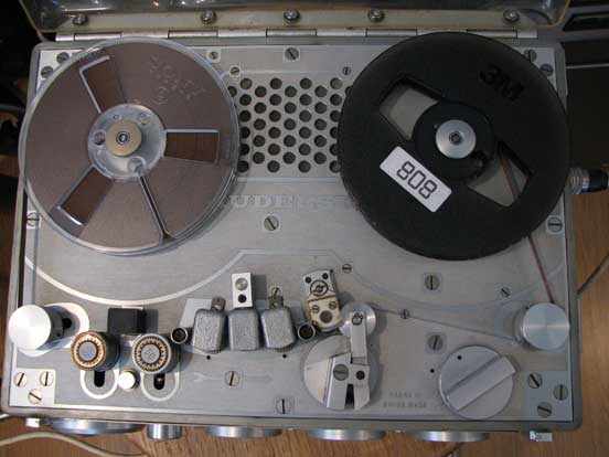 Nagra III in Phantom Productions vintage reel to reel tape recorder collection