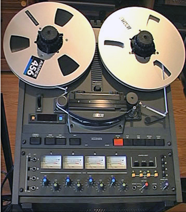 Otari MX-5050 BQ III 4 track reel tape recorder in the Reel2ReelTexas.com vintage recording collection