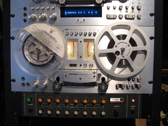 RT-707 reel to reel tape recorder in the Reel2ReelTexas.com vintage recording collection