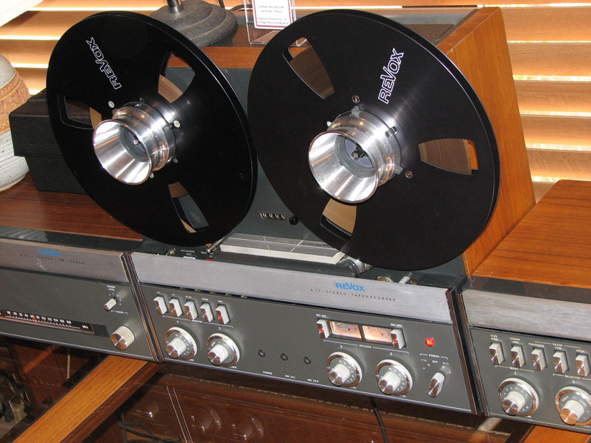 Revox A-77  reel to reel tape rcorder in the Reel2ReelTexas.com vintage recording collection