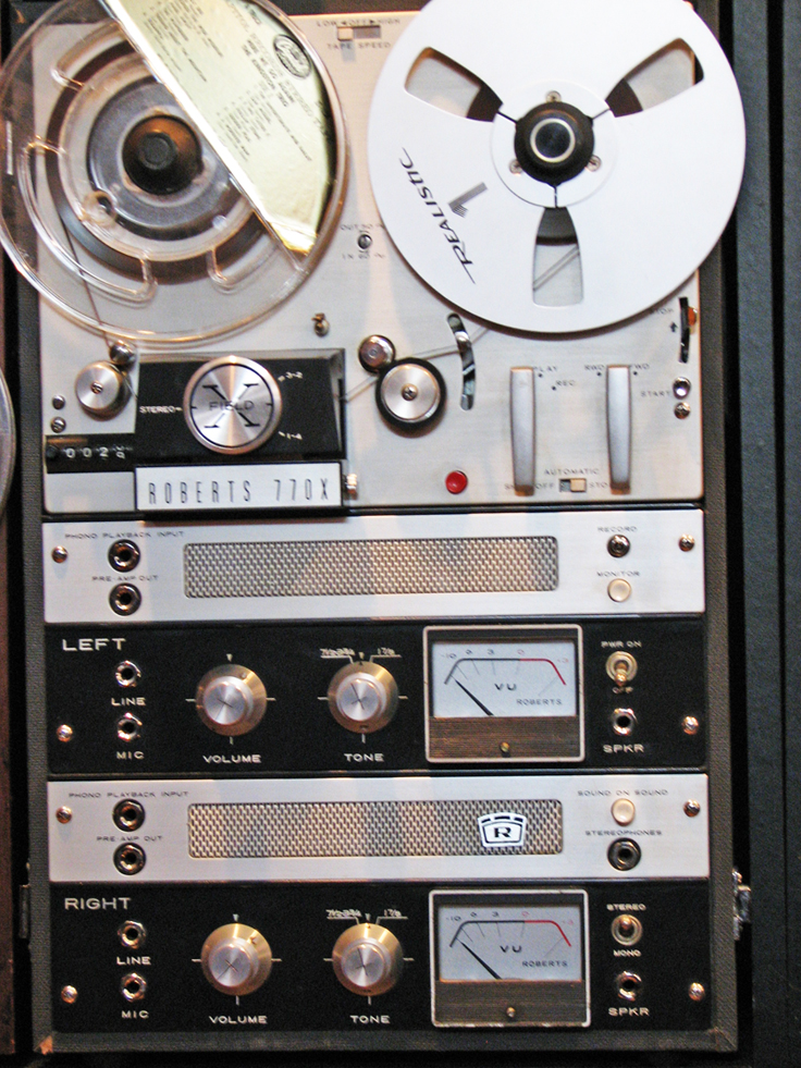 1966 Roberts 770X reel tape recorder in the Reel2ReelTexas.com vintage recording collection