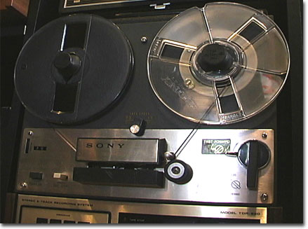 1962 Sony 263D reel tape recorder in the Reel2ReelTexas.com vintage reel tape recorder recording collection
