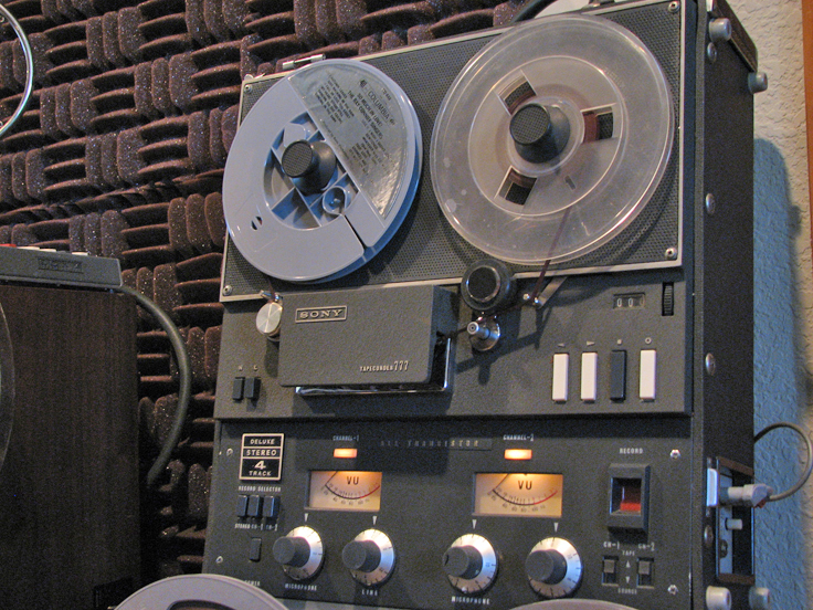1962 Sony 777 reel tape recorder in the Reel2ReelTexas.com vintage recording collection
