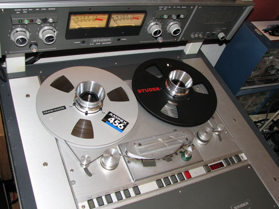 Studer B67 reel to reel tape rcorder in the Reel2ReelTexas.com vintage recording collection
