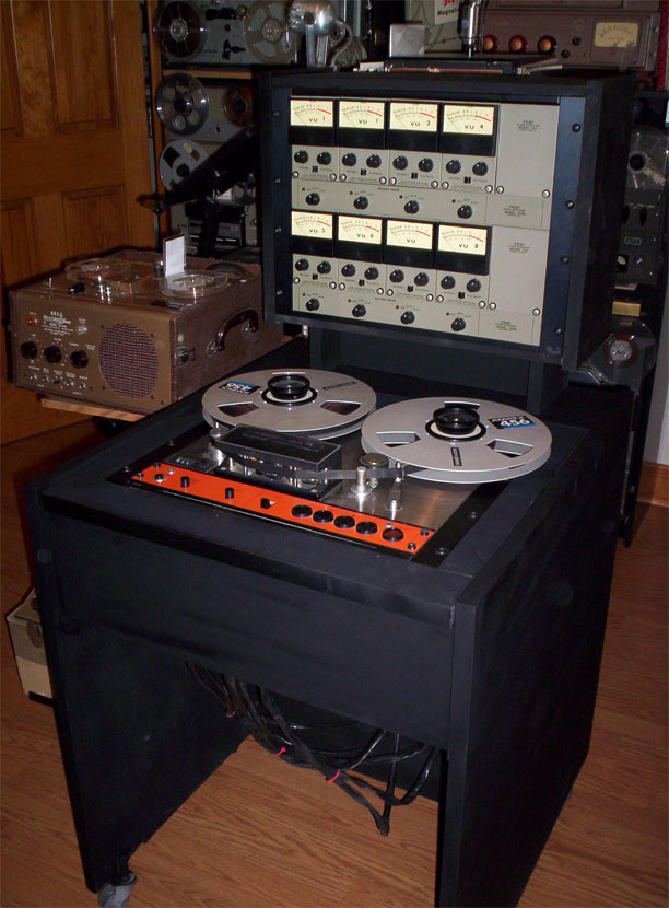 Teac Series 70 8 track reel to reel tape recorder in the Reel2ReelTexas.com vintage reel tape recorder recording collection