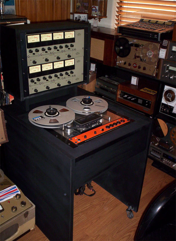 Teac Series 70H8 8 track reel to reel tape recorder in the Reel2ReelTexas.com vintage recording collection