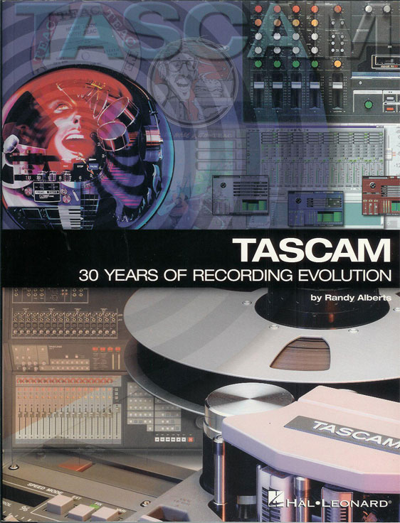 Tascam book in the Reel2ReelTexas.com reel tape recorder vintage reel tape recorder recording collection