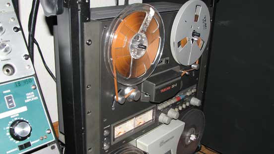 "Teac 22-2 7"" reel tape recorder in the Reel2ReelTexas.com vintage recording collection"