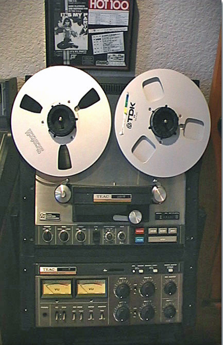 Teac Tascam 35-2 2 Track mastering reel to reel tape recorder in the Reel2ReelTexas.com vintage reel tape recorder recording collection