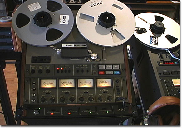 Teac Tascam 3440 - 4 track reel to reel tape recorder in the Reel2ReelTexas.com vintage reel tape recorder recording collection