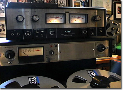 Teac AN-180  in the Reel2ReelTexas.com vintage reel tape recorder recording collection