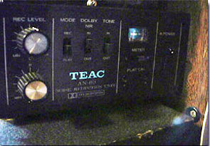 Teac AN-60  in the Reel2ReelTexas.com vintage reel tape recorder recording collection