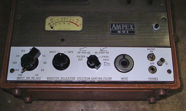 Unusual conversion of the Ampex 601 professional reel to reel tape recorder in the Reel2ReelTexas.com vintage recording collection