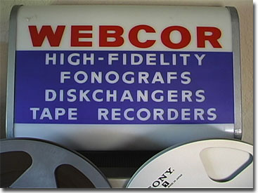 Webcor sign