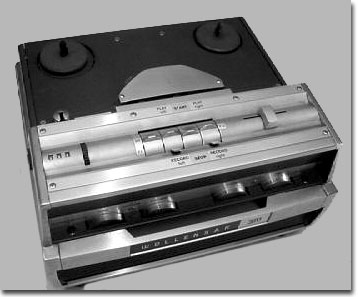 Wollensak 1580 reel tape recorder in the Reel2ReelTexas.com vintage recording collection
